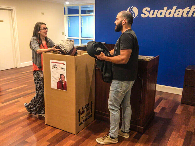 2019 sweater drive at suddath