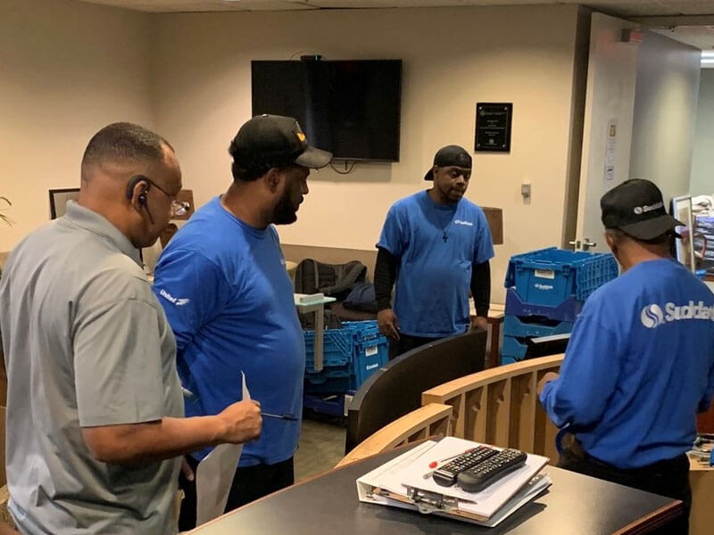 suddath office movers in ULGA atlanta office