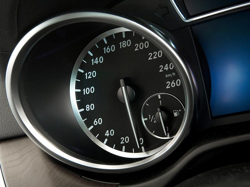 automobile speedometer