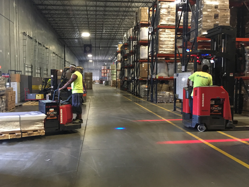 injury free for a year logistics warehouse suddath